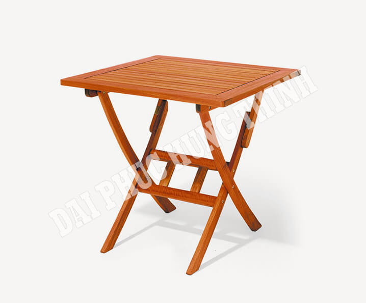 Bradford Folding square table 75x75cm, 75h