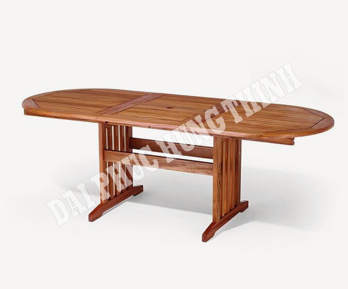 Stockholm ext oval table 220-160x90cm, 75h