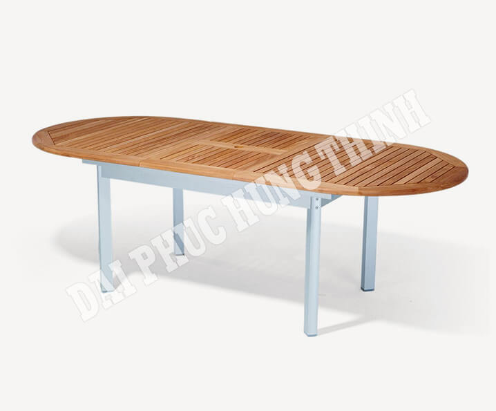 Benfica ext oval table 230-180x100cm, 75h